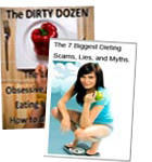 The 12 Most Obsessive Compulsive Eating Habits and How to Break Them and The 7 Biggest Dieting Scams, Lies and Myths eCover